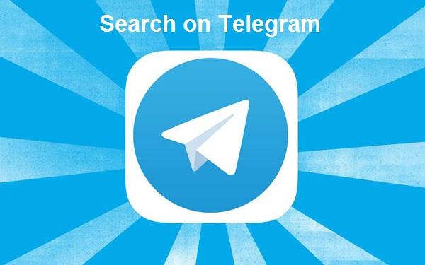 جستجوی عبارت در تلگرام