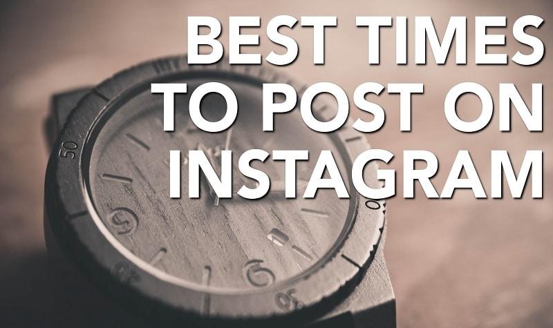 بهترین زمان پست گذاشتن در اینستاگرام برای افزایش لایک و بازدید