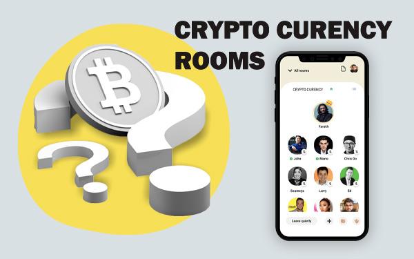 روم های کلاب هاوس در رابطه با ارزهای دیجیتال