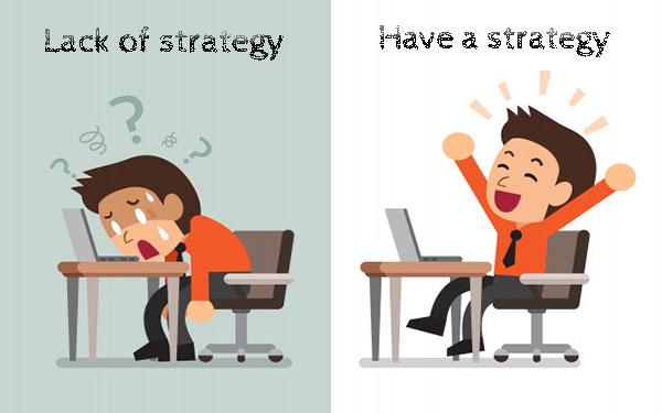 نداشتن استراتژی در مدیریت شبکه های اجتماعی