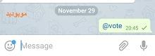 نظرسنجی در تلگرام